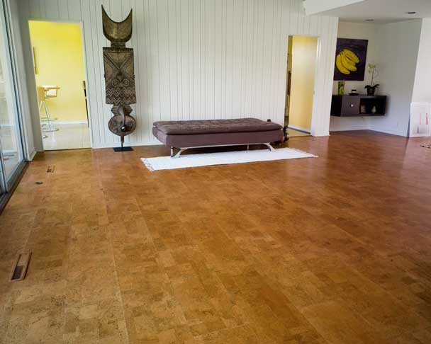 Flooring sustainable grounding for Sustainable cork flooring