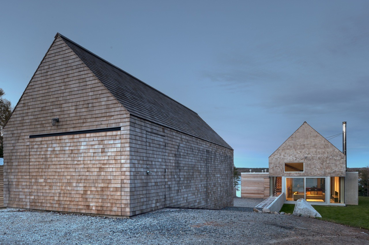 The martin lancaster house in prospect nova scotia by for Martin architects