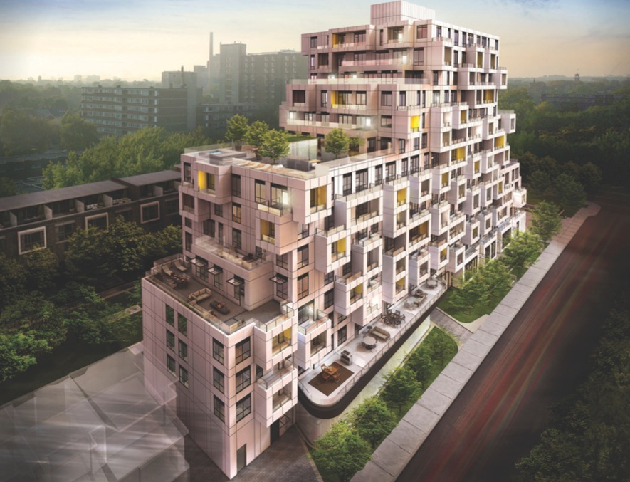 Impression of the condominiums designed by Tridel - Image provided by Tridel