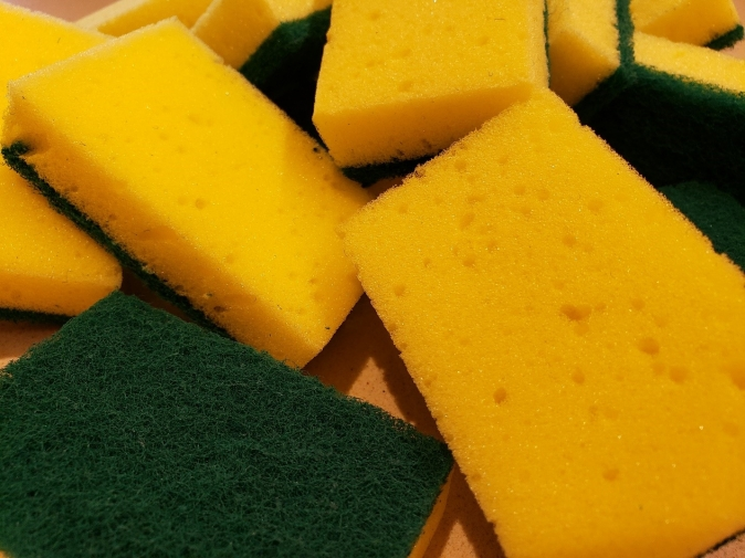 Your kitchen sponge can be about the germiest thing in your home!
