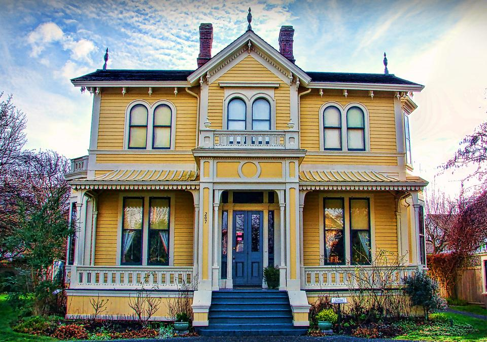 The historically significant emily carr house in victoria for The victoria house
