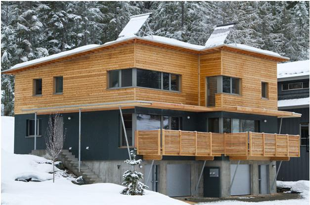 The rainbow passive house duplex by marken projects in for Duplex project homes