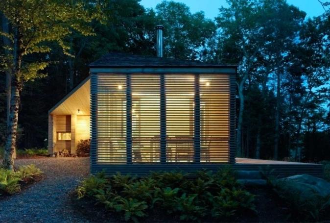 Sneak Away To This Cabin In The Bracebridge Ontario Woods