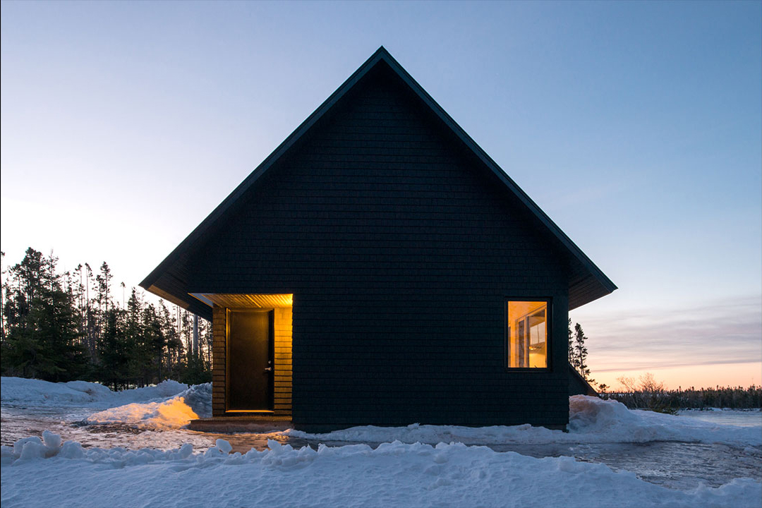 Black Gables By Architect Omar Gandhi On Cape Breton