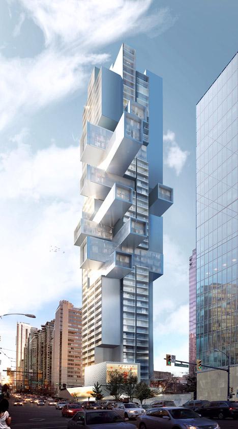 Architectural firm buro ole scheeren stuns with vancouver for Vancouver architecture firms