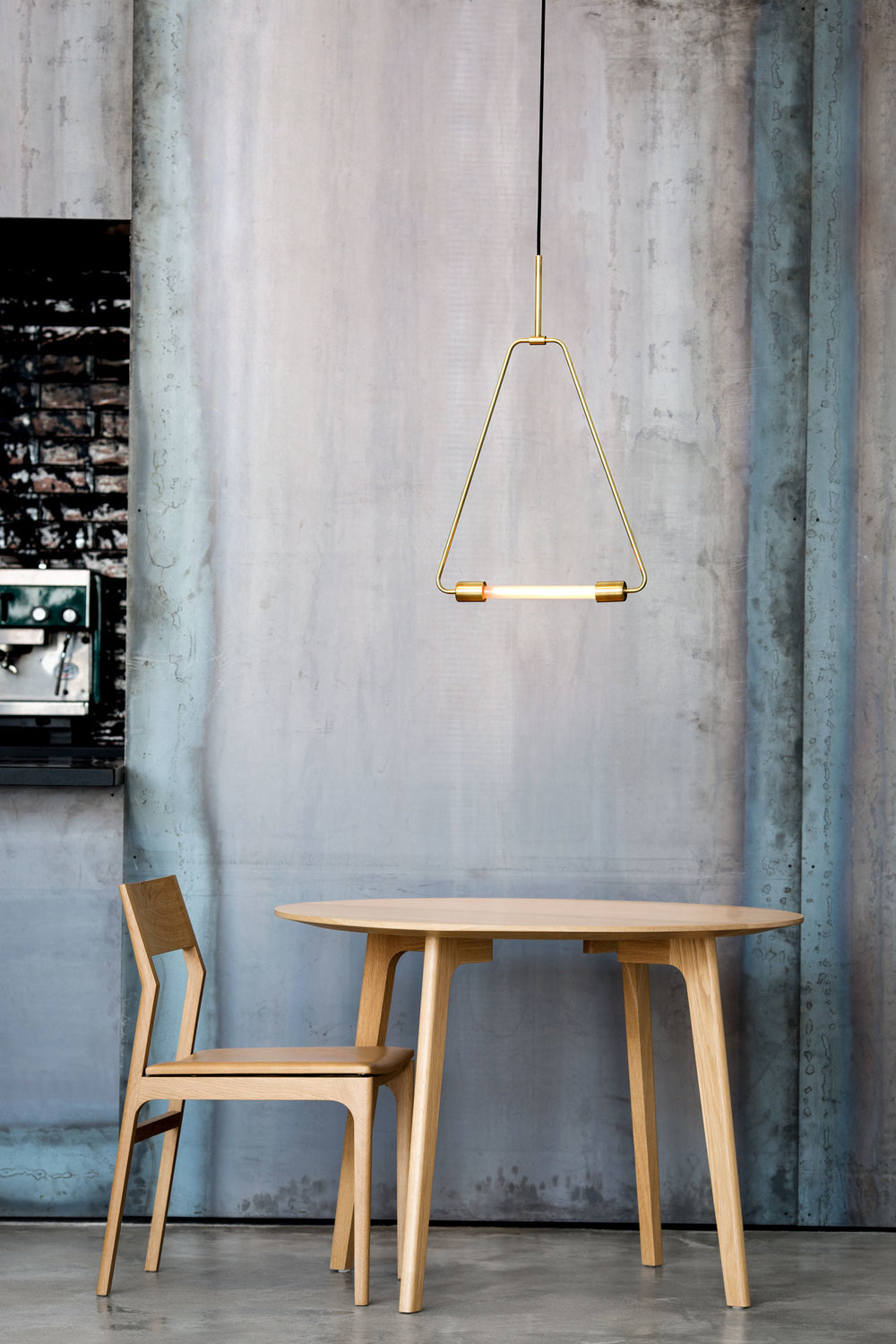 Mid century modern meets industrial in lambert fils for Meuble mid century montreal