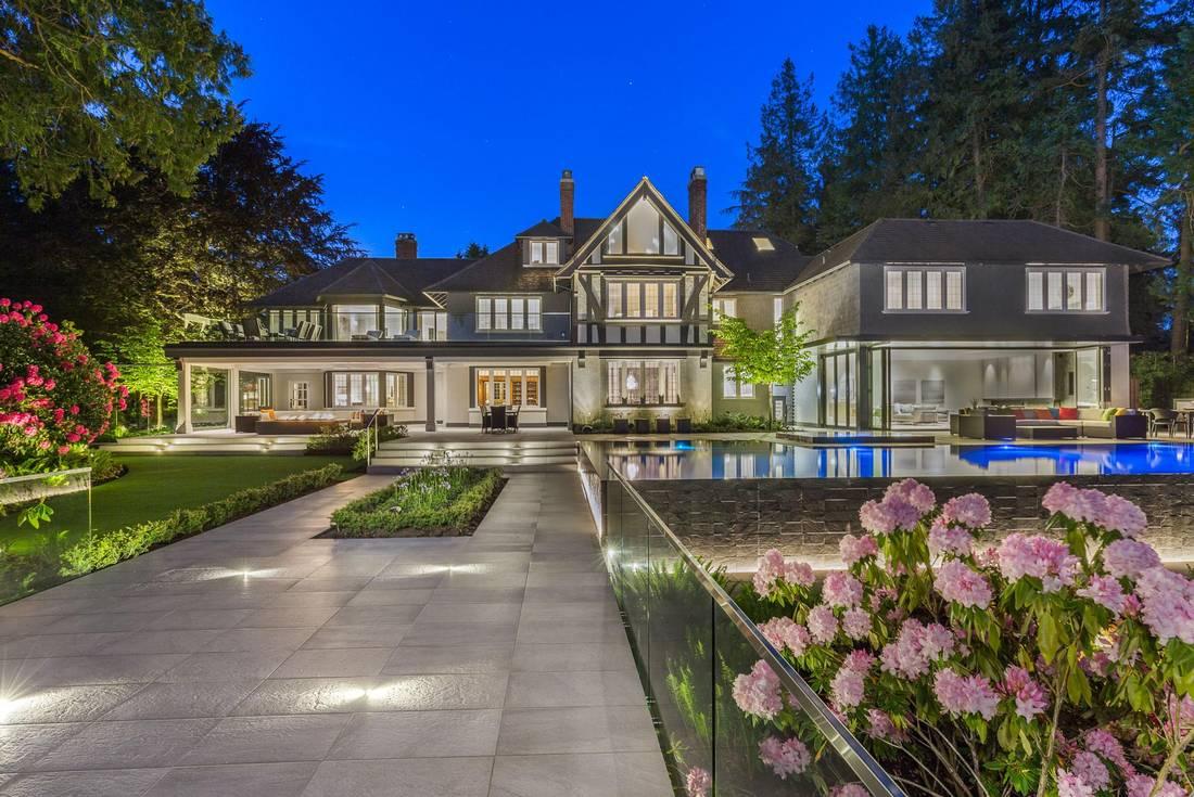 The Gables Estate A 30m Tudor Mansion On Vancouver S