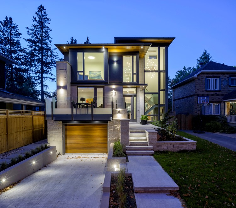 The Bower Avenue House By Flynn Architect In Ottawa