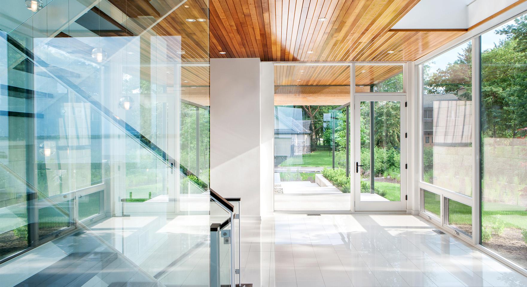 Christopher Simmonds Architect Inc Designs An Ottawa River House