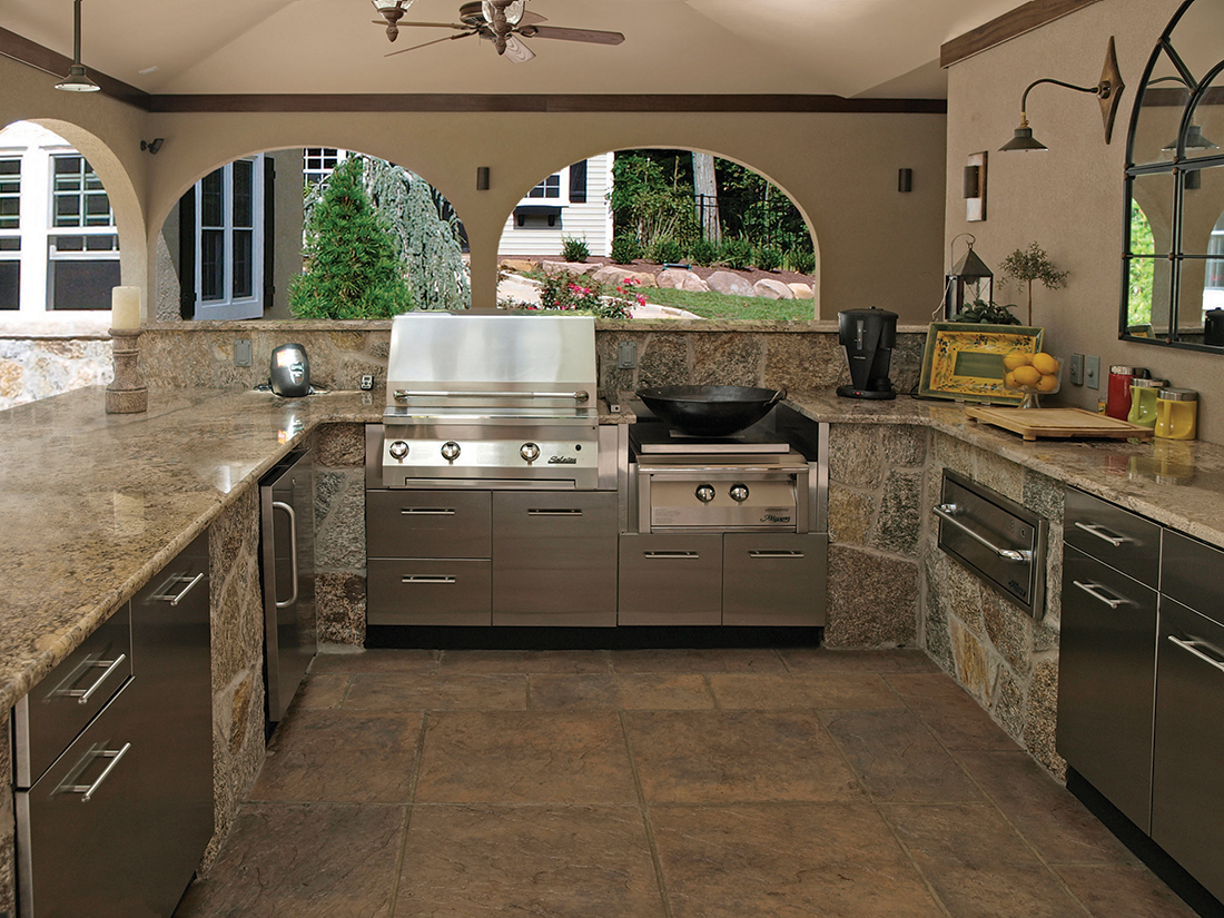 A Culinary Paradise From Canada Outdoor Kitchens In