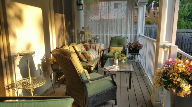 A porch can be a homeowner's private paradise.