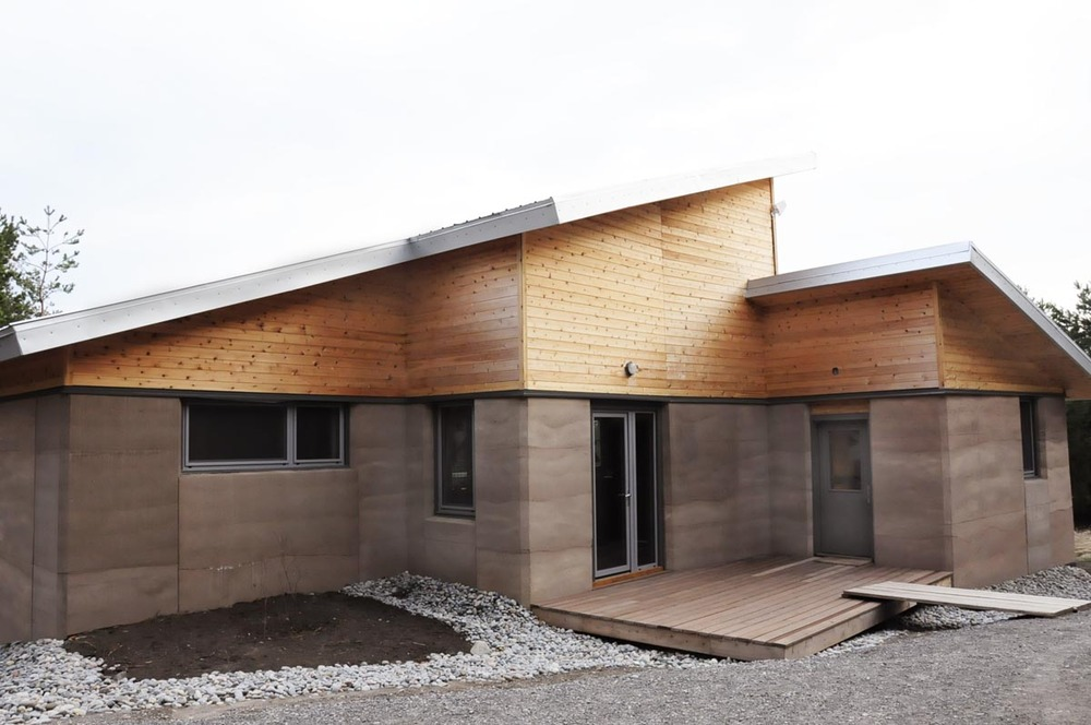 The Castleton Residence: Ontario's First Ever Rammed Earth ... on from the earth homes, mini earth homes, geo earth homes, old earth homes, the earliest rammed earth homes, earth built homes,