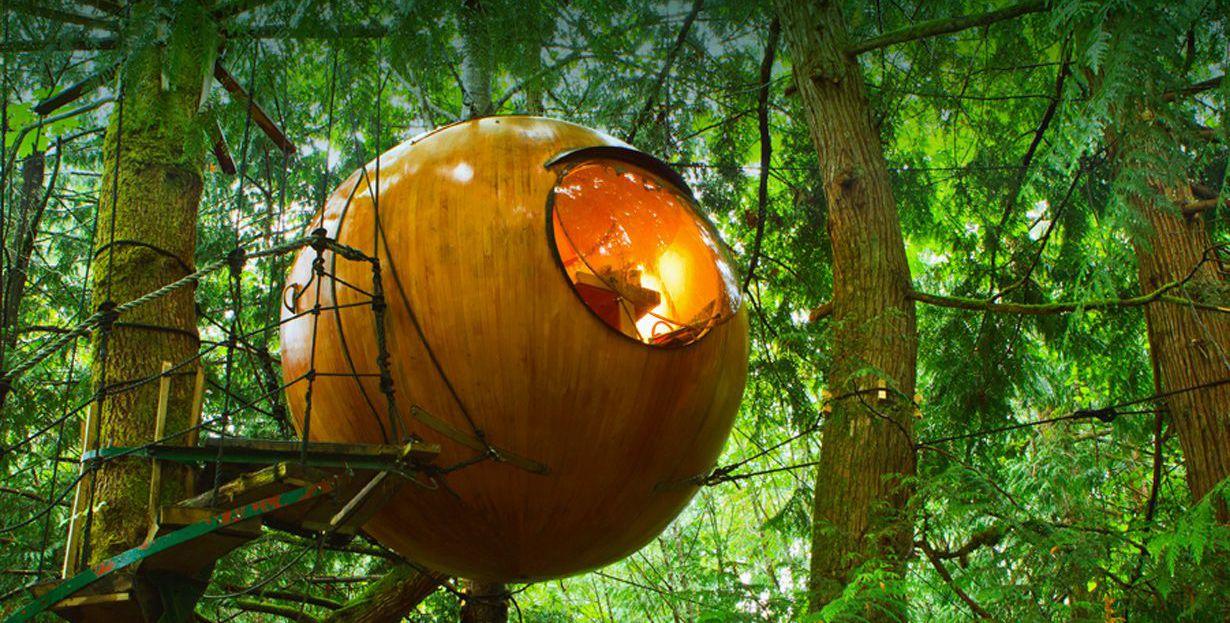 free spirit spheres british columbia canada